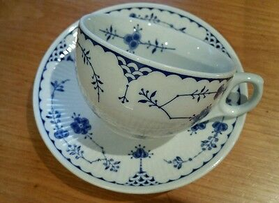 Furnival Denmark  Tea Cup And Saucer