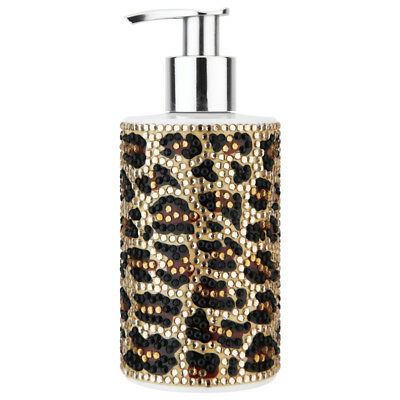 "VIVIAN GRAY 1004 ""Animals"" Seifenspender mit Creme Seife ""Leopard"", gold (250 ml"