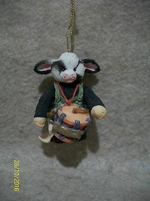 Drummer Boy Hanging Ornament - Moo Moo