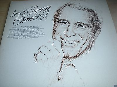 Here Is Perry Como Vol 2 Double Album in Gatefold Sleeve RCA Victor DPS 2036