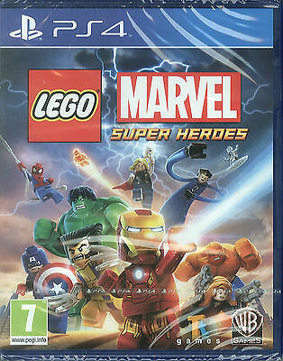 LEGO Marvel Super Heroes PS4 PlayStation 4 Game