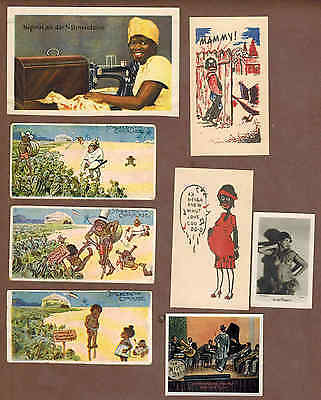 BLACK HISTORY: Collection of Scarce Antique Cards (1898)