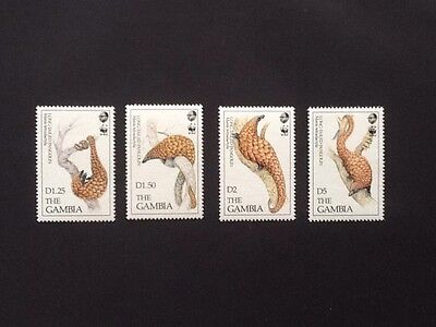 Timbres GAMBIE, pangolin