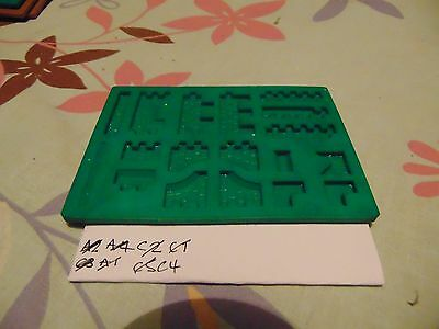OO HO Linka Buildings System Railway War Games Moulds C4