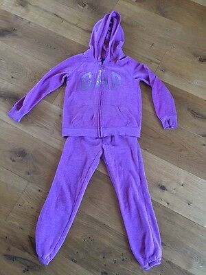 Girls gap tracksuit Sequin Aged 8 Medium Excellent condition