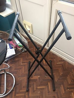 Double Braced Keyboard Stand Poss FREE Delivery Devon And Cornwall