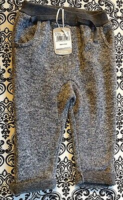 Boys Grey Trousers In Size 12 -18 Months New From Tu