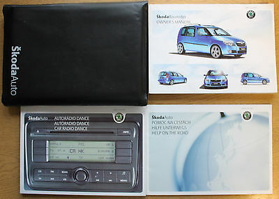 Skoda Roomster Handbook Owners Manual Wallet 2006-2010 Pack 12651