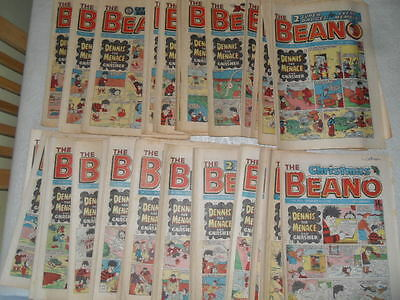 51 X Beano comics 1984 Near Complete Year - issues 2164- 2215 good condition