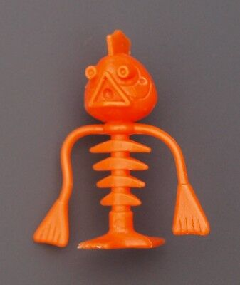 Crater Critter - Bugsy Backbone - Kellogs Cereal Toy - Orange