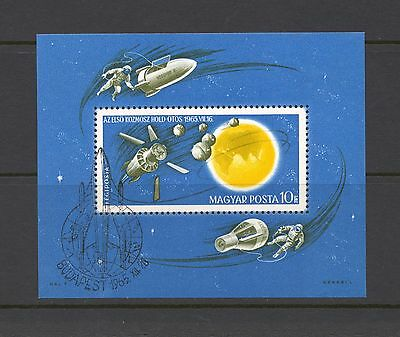 Hungary 1965 SG MS 2149 Space Research CTO