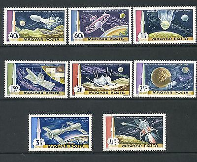 Hungary 1969 SG 2487-94 Space Man on Moon  MNH