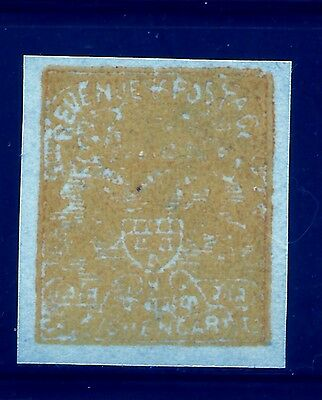 Kishengarh State  , Imperf Single, On Wove Paper, India,indian States