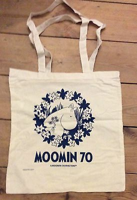 Moomin 70th anniversary promotional bag new