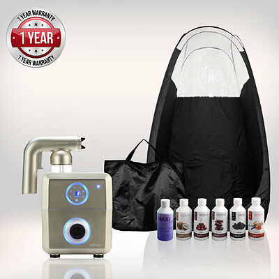 Tanning Essentials Rapid Complete Spray Tan Kit ' Champagne Gold' + Tent + Tan