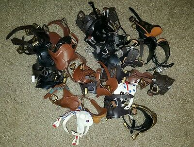 Grand Champion Horse Huge Lot of Accessories Saddles May also fit Breyer Classic