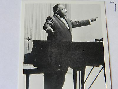 "Music Trading Card "" Count Basie"""