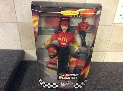 NASCAR official #94 collector edition BARBIE doll