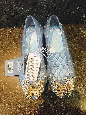 NWT Disney Store Cinderella Butterfly Shoes Size 11/12