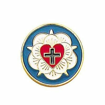Luther Rose Lapel Pin