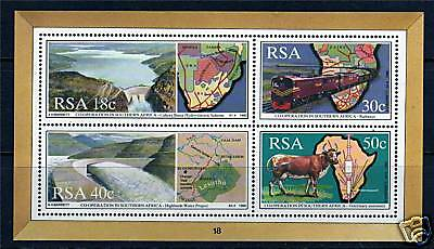South Africa 1990 Co-operation in S.A.MS SG704 MNH