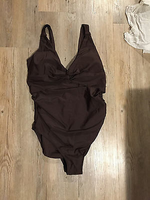Maternity Swimsuit Size 10 Pregnancy Bathing Costume Mothercare