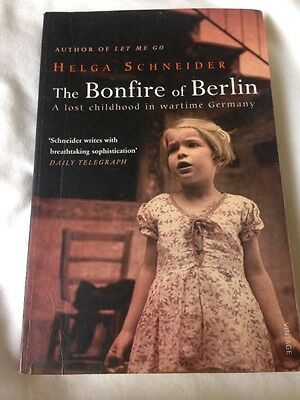Helga Schneider. The Bonfire Of Berlin. True Story Of Wartime Childhood