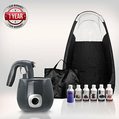 Tanning Essentials™ PRO V Complete Spray Tan Kit 'Graphite Grey' + FREE Suntana