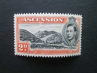 Ascension Islands Sg41aa Mountaineer flaw U/M-Read main descriptions/scans/zoom.