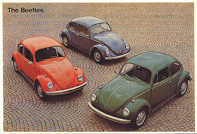 Mayfair Postcards.(401) ~ Volkswagen ~ A Family Of Beetles.