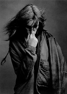 Patti Smith - Awesome Promo Press Photo 1996 - Godmother Of Punk - Gone Again