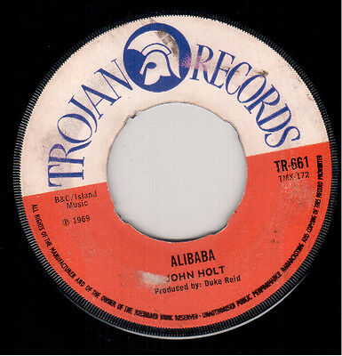 John Holt - Ali Baba / I'm Your Man - Trojan
