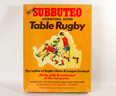 Subbuteo: International Edition Table Rugby - EXTREMELY RARE - See Description