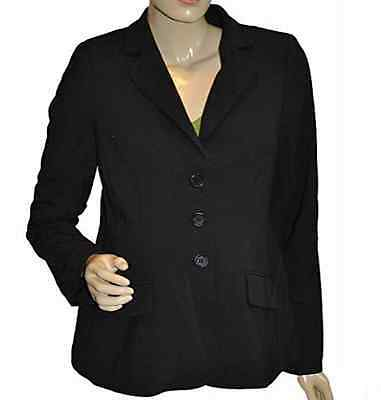 Liz Lange The Collection Elegant Professional Maternity Blazer, Black, SMALL