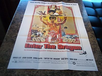 Enter The Dragon Bruce Lee Poster