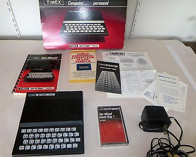 Timex Sinclair 1000 Personal Computer with Manual and Paperwork