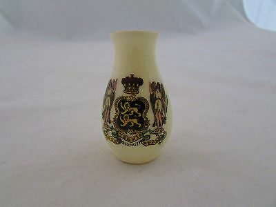 A & S Arcadian Crested China Vase