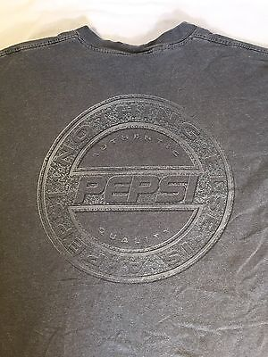 """Men's Size L XL Tee T SHIRT """"NOTHING ELSE IS A PEPSI"""" GRAY 1990's Throwback Tee"""