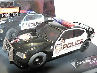Carrera Evolution 27252 Dodge Charger 2006 SRT 8 USA Police NEU
