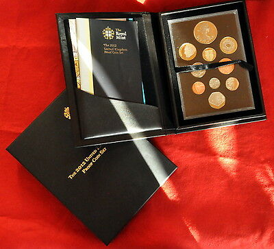 2012 United Kingdom Proof coin set. ALL MINT in original box with papers.