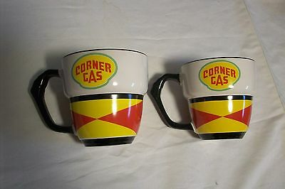 Two Corner Gas Tv Show Coffee Mugs New-Never Used RARE!!!!!!