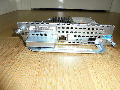 Cisco NME-WAE-522-K9 Network Module for 2800 3800 Cisco CCNA CCNP CCIE