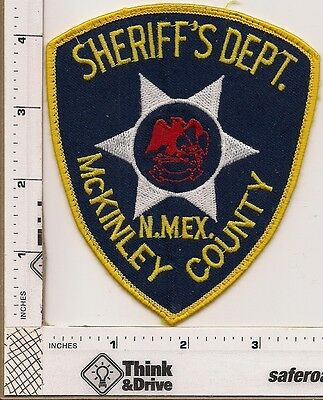 McKinley County Sheriff. New Mexico.