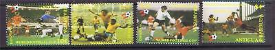 Antigua 1982 World Cup P12. SG 733/6 MNH