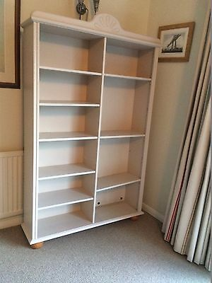 Painted pine display unit/bookcase