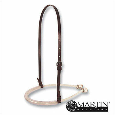 Martin Saddlery Single Rope Horse Noseband With Rubber Tube Cover