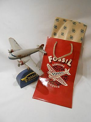 Fossil Watch Airplane Advertising Store Display
