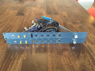 """Neve 1073 19"""" Faceplates With Wiring And Edge Connectors"""