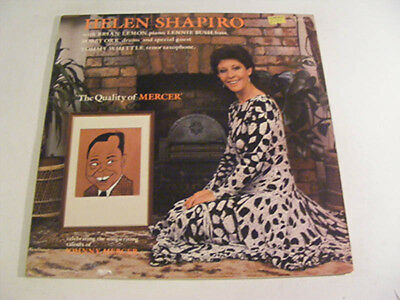 HELEN SHAPIRO The Quality Of Mercer Ex Calligraph 1987 UK LP