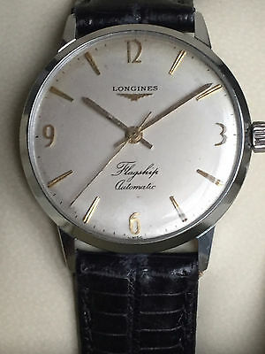 Vintage SWISS Longines Flagship Automatic Oversized 1960s Mens Watch